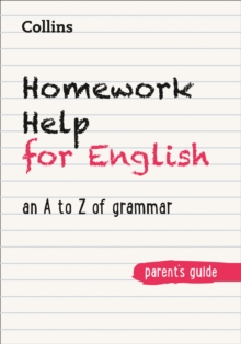 Image for Homework help for English  : an A to Z of grammar