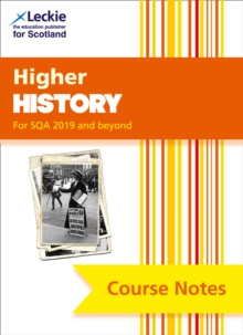 Image for Higher history course notes  : course notes for SQA exams