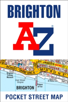Image for Brighton A-Z Pocket Street Map