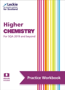 Image for Higher chemistry  : practise and learn SQA exam topics