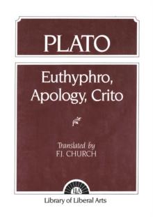Image for Plato : Euthyphro, Apology, Crito