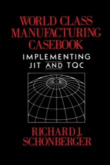 Image for World Class Manufacturing Casebook