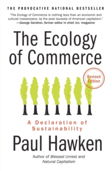 Image for The ecology of commerce  : a declaration of sustainability