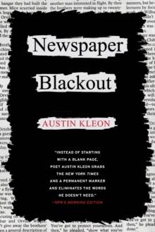 Image for Newspaper blackout