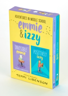 Image for Adventures in Middle School 2-Book Box Set : Invisible Emmie and Positively Izzy