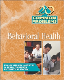 20 Common Problems in Behavioral Health