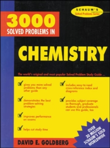 3,000 Solved Problems in Chemistry (Schaum's Solved Problems) (Schaum's Solved Problems Series)