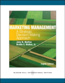 Image for Marketing management  : a strategic decision-making approach