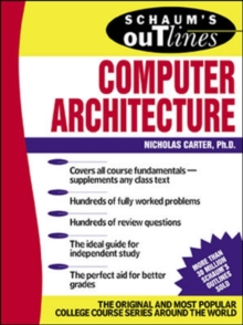 Image for Schaum's outline of computer architecture