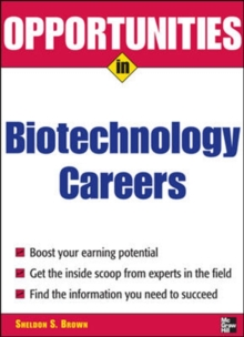 Image for Opportunities in Biotech Careers