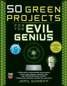 Image for 50 green projects for the evil genius