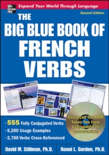 Image for The big blue book of French verbs  : 555 fully conjugated verbs
