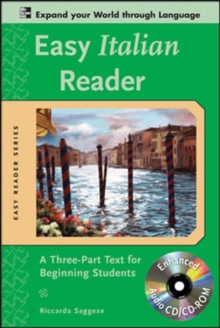 Image for Easy Italian reader  : a three-part text for beginning students