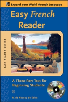 Image for Easy French reader  : a three-part text for beginning students