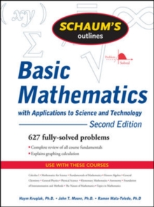 Image for Schaum's outline of theory and problems of basic mathematics with applications of science and technology