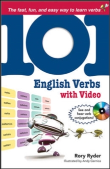 101 English Verbs with MP4 Video Disc (101... Language Series)