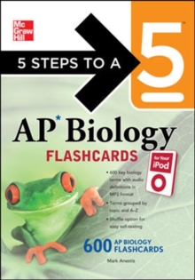 5 Steps to a 5 AP Biology Flashcards for Your iPod with MP3/CD-ROM Disk (5 Steps to a 5 on the Advanced Placement Examinations Series)