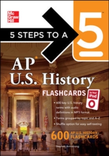 5 Steps to a 5 AP U.S. History Flashcards for Your iPod with MP3/CD-ROM Disk (5 Steps to a 5 on the Advanced Placement Examinations Series)