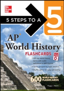 5 Steps to a 5 AP World History Flashcards for your iPod with MP3 Disk (5 Steps to a 5 on the Advanced Placement Examinations Series)