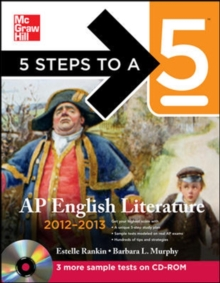 5 Steps to a 5 AP English Literature with CD-ROM, 2012-2013 Edition (5 Steps to a 5 on the Advanced Placement Examinations Series)