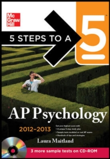 5 Steps to a 5 AP Psychology with CD-ROM, 2012-2013 Edition (5 Steps to a 5 on the Advanced Placement Examinations Series)