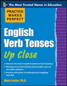 Image for English verb tenses up close