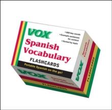 Image for VOX Spanish Vocabulary Flashcards