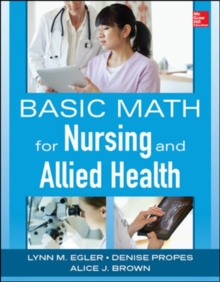 Image for Basic Math for Nursing and Allied Health