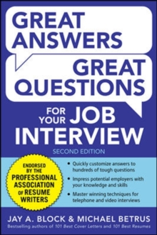 Image for Great answers, great questions for your job interview