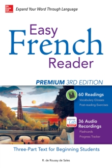 Image for Easy French reader: a three-part text for beginning students