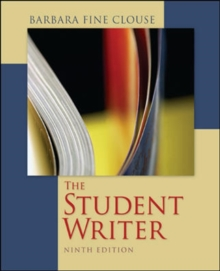 Image for The student writer  : editor and critic