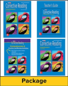 Corrective Reading Comprehension Level A, Teacher Materials Package - McGraw Hill