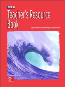 Corrective Reading Comprehension Level B1, National Teacher Resource Book - McGraw Hill