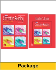 Image for Corrective Reading Comprehension Level B1, Teacher Materials Package