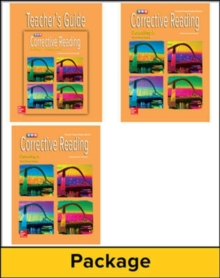 Corrective Reading Decoding Level A, Teacher Materials Package - McGraw Hill