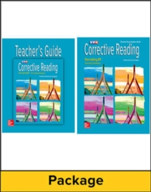 Corrective Reading Decoding Level B1, Teacher Materials Package - McGraw Hill