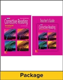 Corrective Reading Decoding Level B2, Teacher Materials Package - McGraw Hill