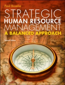 Image for Strategic human resource management  : a balanced approach