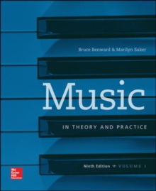 Image for Workbook t/a Music in Theory and Practice, Volume I