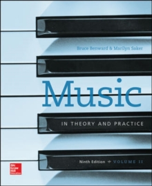 Image for Workbook to accompany Music in Theory and Practice, Volume 2