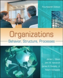 Image for Organizations: Behavior, Structure, Processes