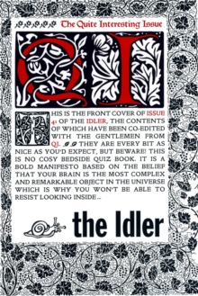 Image for The idlerIssue 41: Summer 2008