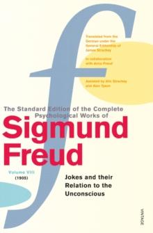 Complete Psychological Works Of Sigmund Freud, The Vol 8