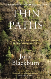 Image for Thin paths  : journeys in and around an Italian mountain village