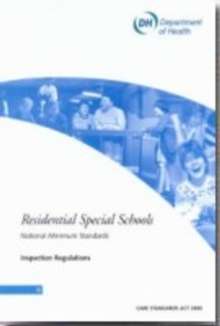 Image for Residential Special Schools : National Minimum Standards