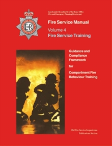 Image for Fire Service Manual 4: Fire Service Training