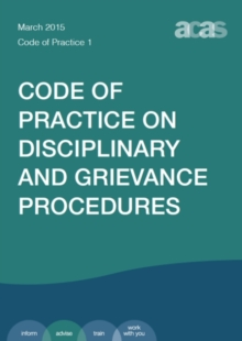 Image for Disciplinary and grievance procedures