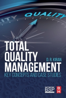 Image for Total quality management  : key concepts and case studies.