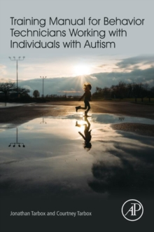 Image for Training Manual for Behavior Technicians Working with Individuals with Autism