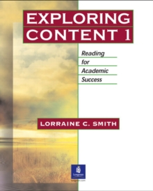 Image for Exploring Content 1: Reading for Academic Success